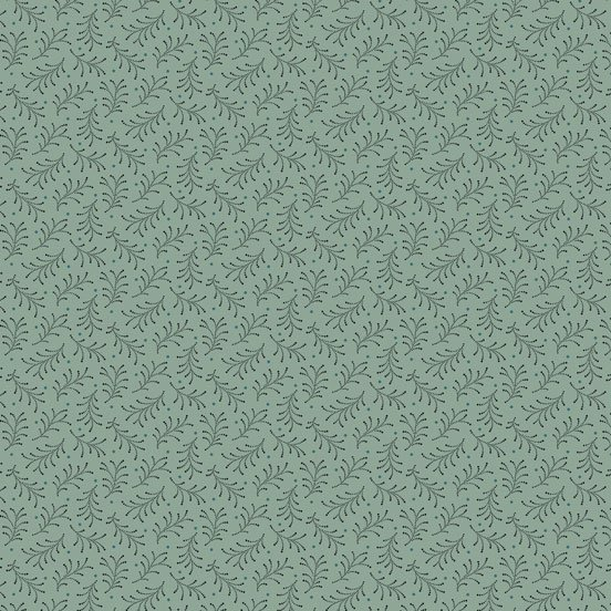 Trinkets - green ferns