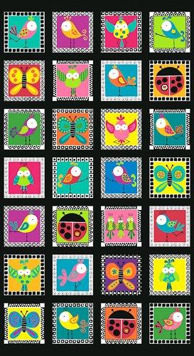 Sweet Treats - birds on square frames