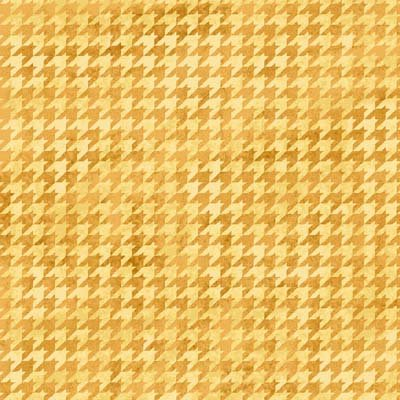 Kitty Kat Kapers - yellow with pattern