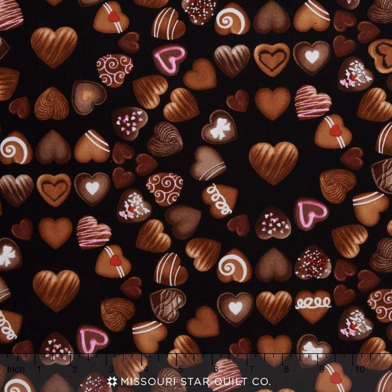 Oh Fudge! - chocolate hearts