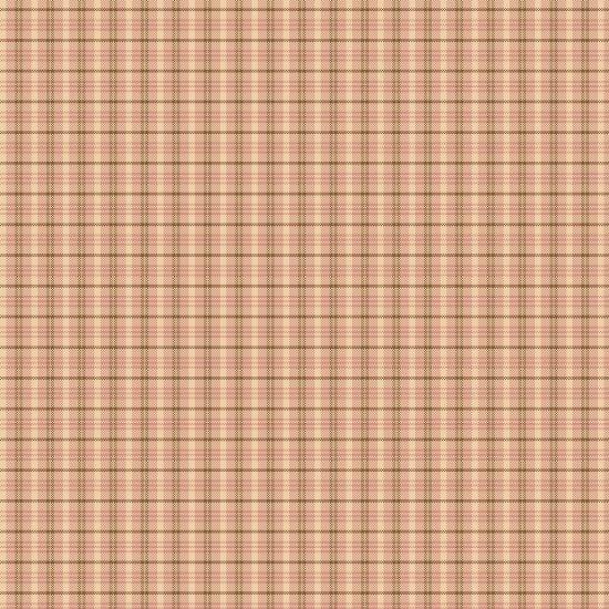 Cherry Blossoms - yarn dye - small plaid - pink
