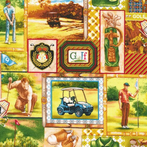 Tee Time - golf scenes