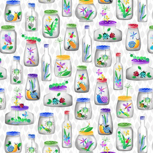 Bugs Galore - bugs in jars