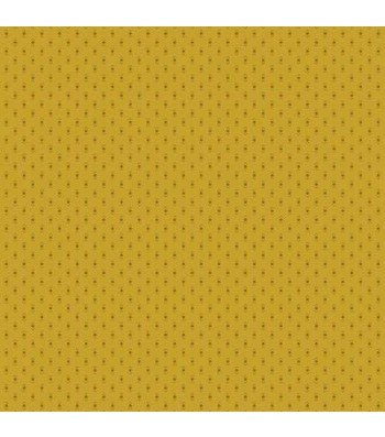 Trinkets - small circles & angles on mustard yellow