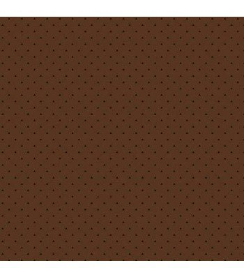 Trinkets - small dots on brown