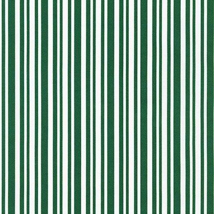 Yuletide Bells - Green Stripe