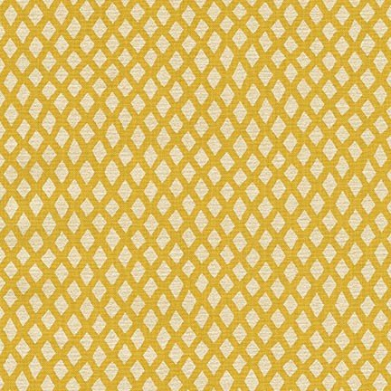 Shimmer 2 - sunshine - silver diamonds on yellow
