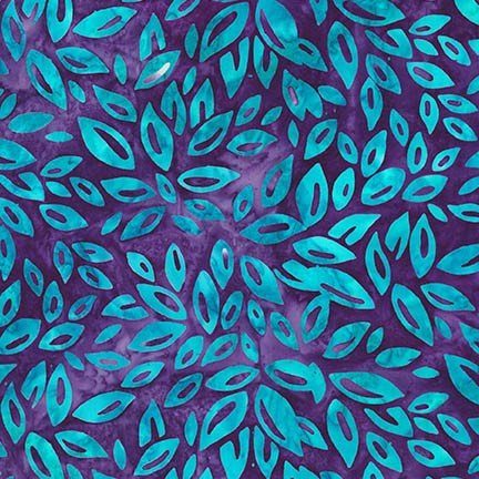 Fancy Feathers 2 - violet leaves