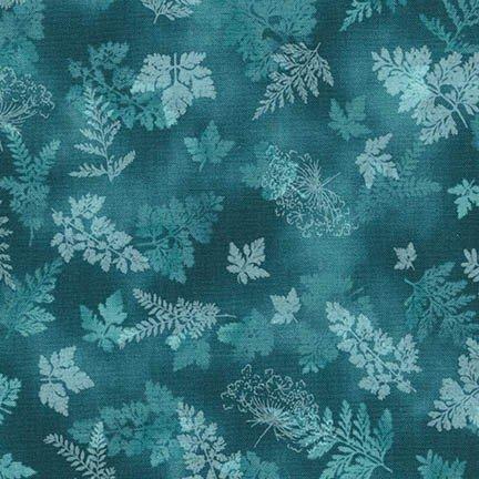 Tuscan Wildflower 3 - bluish/greenish leaves