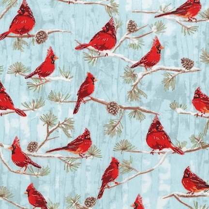 Cardinals on branches