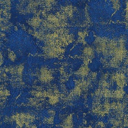 Winter's Grandeur 8 - Navy/Gold