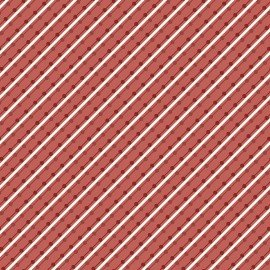 Home Grown Stripe Red