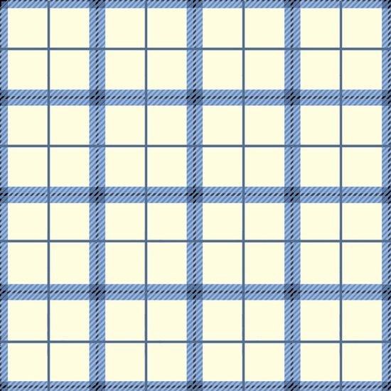 Reel It In - blue plaid