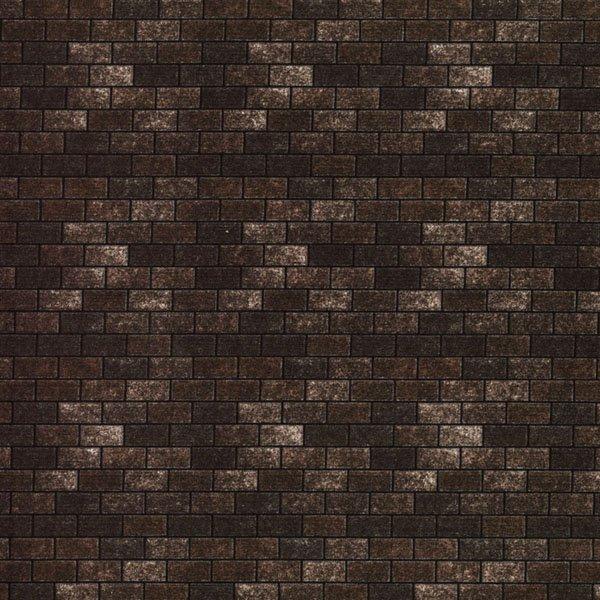 Landscapes dark brown brick