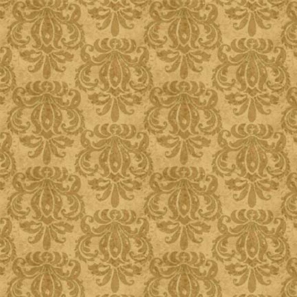 Light Brown Damask with metallic