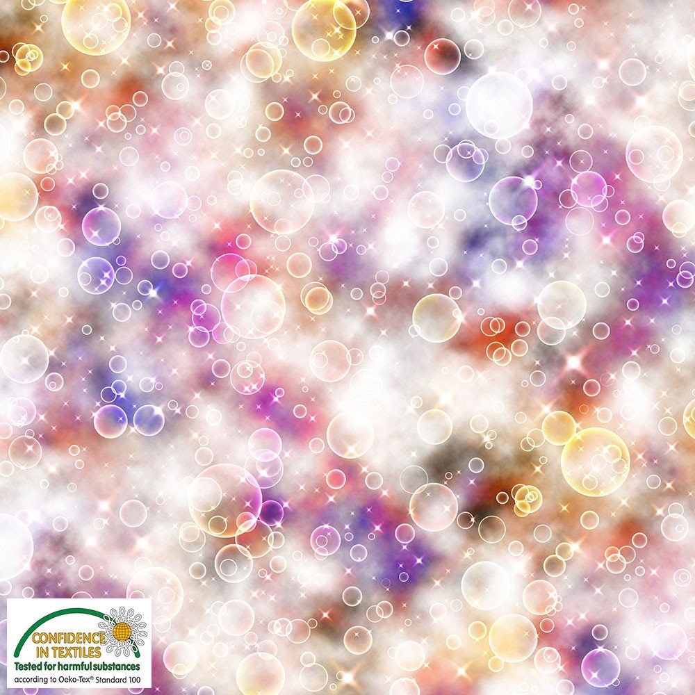 Colorful Bubbles - Light Red Purple