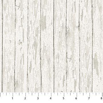 Lakeside Lodge - flannel - distressed wood