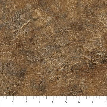 Lakeside Lodge - flannel - light brown leather texture
