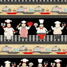 In The Kitchen - repeating stripe