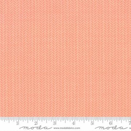 Lullaby - herringbone - peach