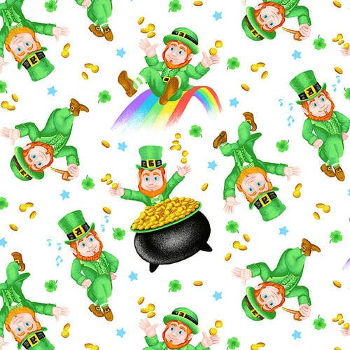 Pot of Gold - leprechauns and pots of gold