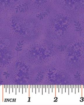 purple with purple flowers
