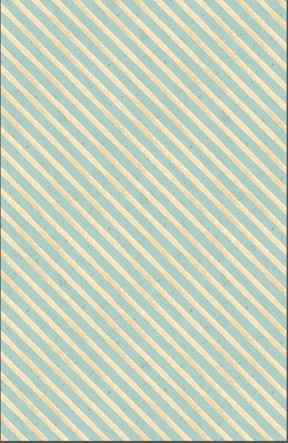 Woodland Wonder - diagonal blue stripes
