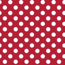 Kimberbell Basics - white dots on red