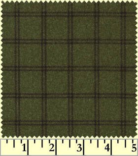 Woolies Flannel-Plaid Green
