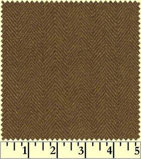 Woolies Flannel-Medium Brown