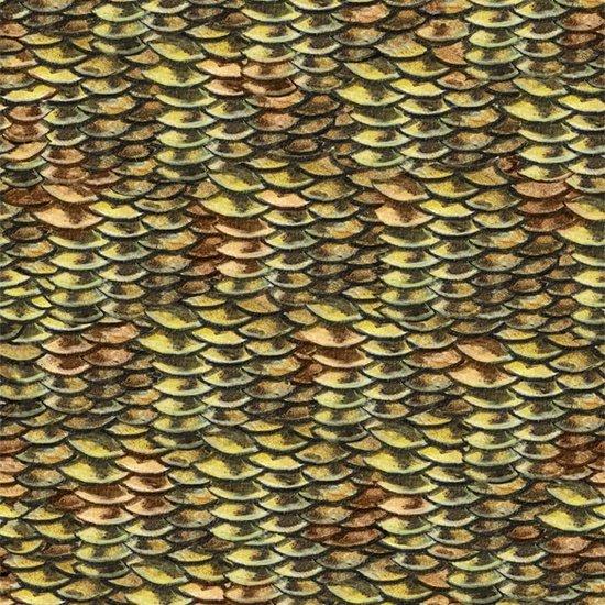Reel It In - fish scales - yellow/orange
