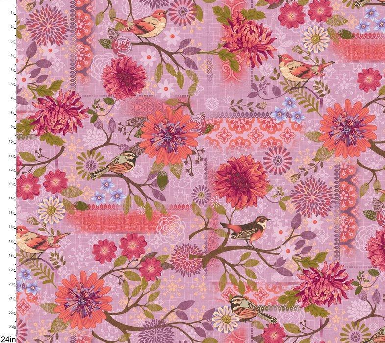 Meadowlark - flowers on lavender