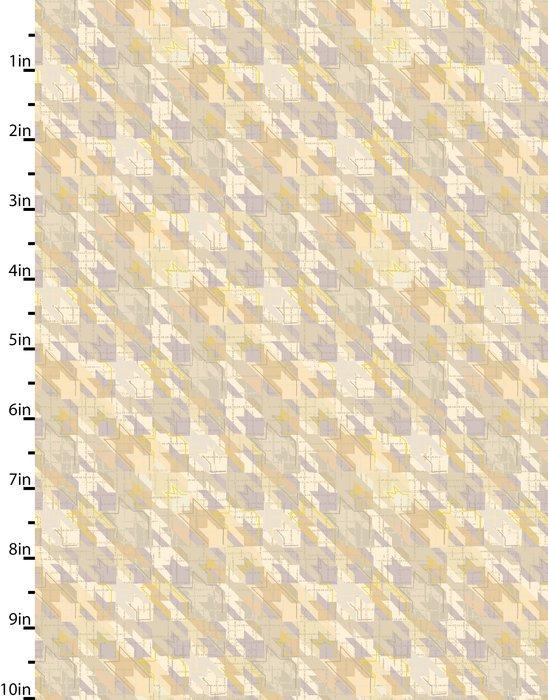 Meadowlark - starlike pattern - lavender