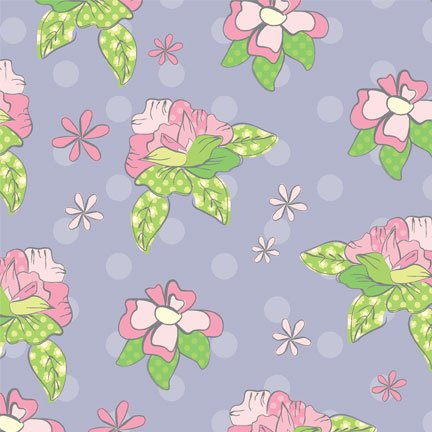 Pretty Little Things - roses on lavender