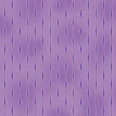 Amazing Stars - purple stripes on lavender