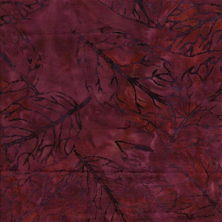 Malam Batiks-Pressed Leaf