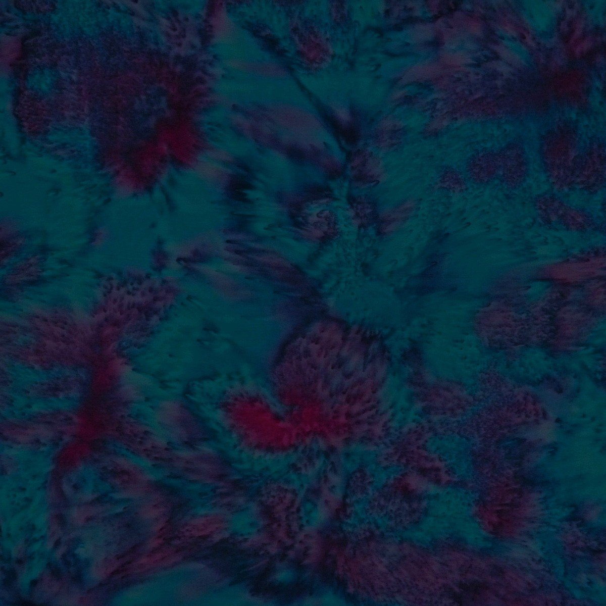 Batik by Mirah - Silhouette - Aqua Dance - purple/blue flowing together