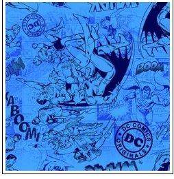 Super Heros - tonal blue