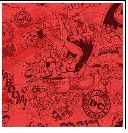 Super Heros - tonal red