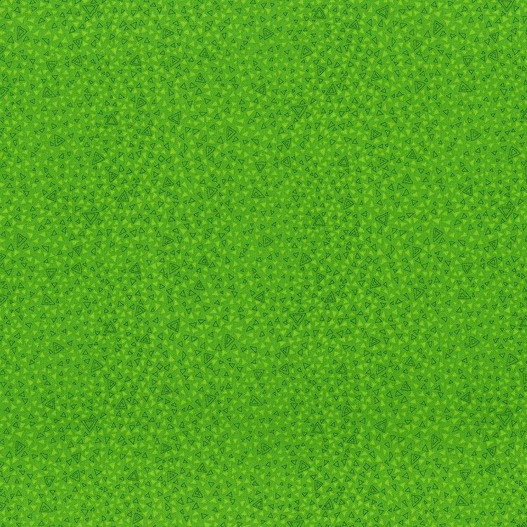 Hopscotch - triangle symphany - meadow green