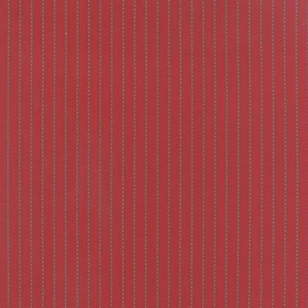Under the Mistletoe - crimson wiht gold braided stripes