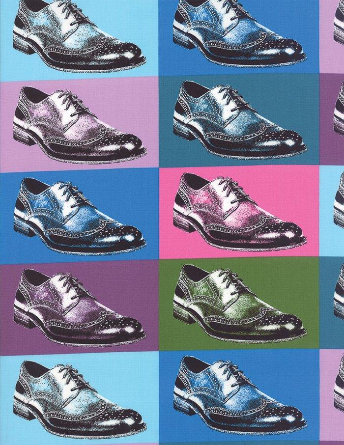Dapper Prints - wingtip shoes