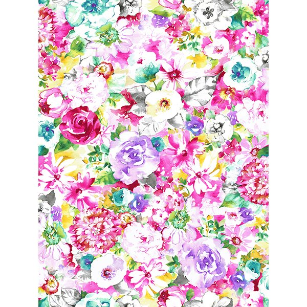 Annabelle Watercolor Floral