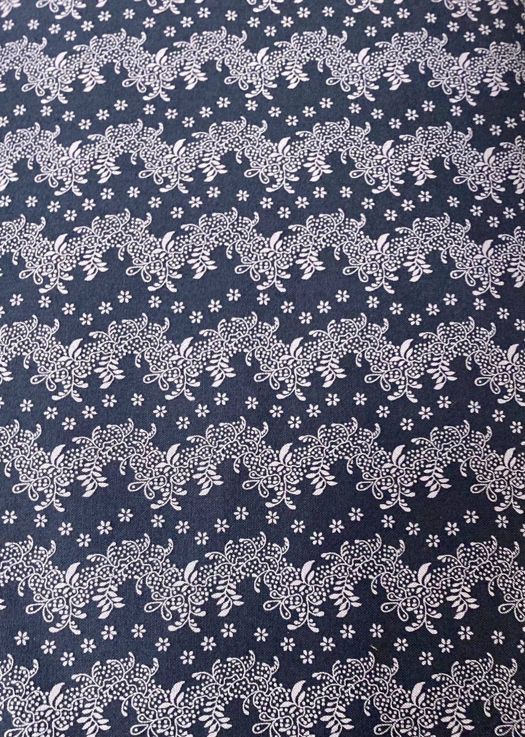 Country Meadow Navy Lace