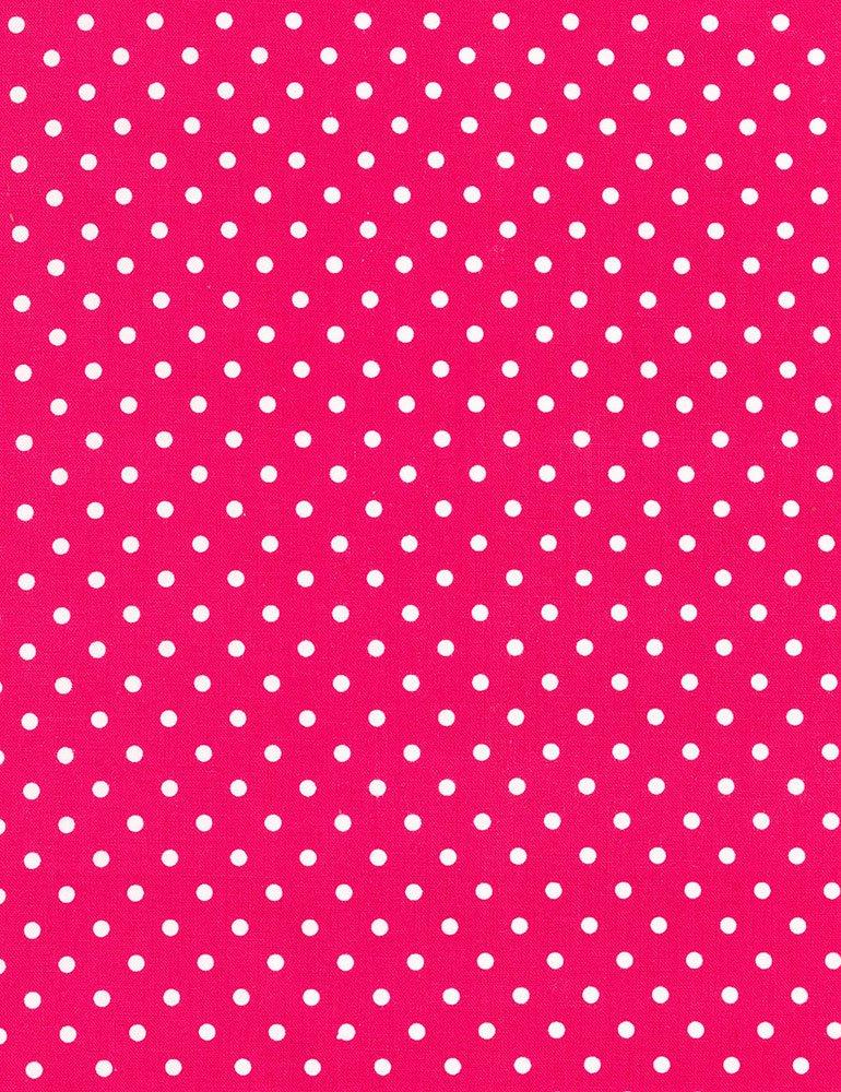 Magenta w/White Dots