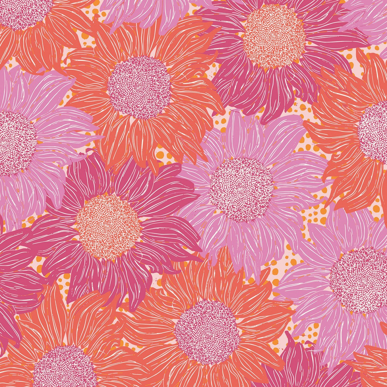 Murmur Pink Sunflowers