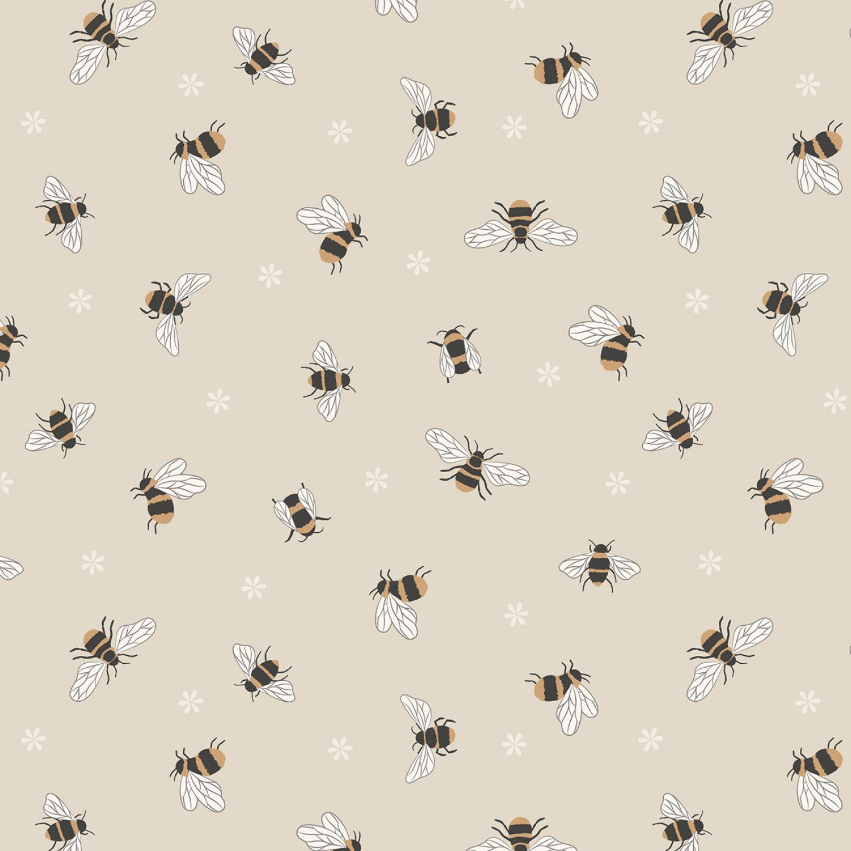 Queen Bee Honeycomb on Cream
