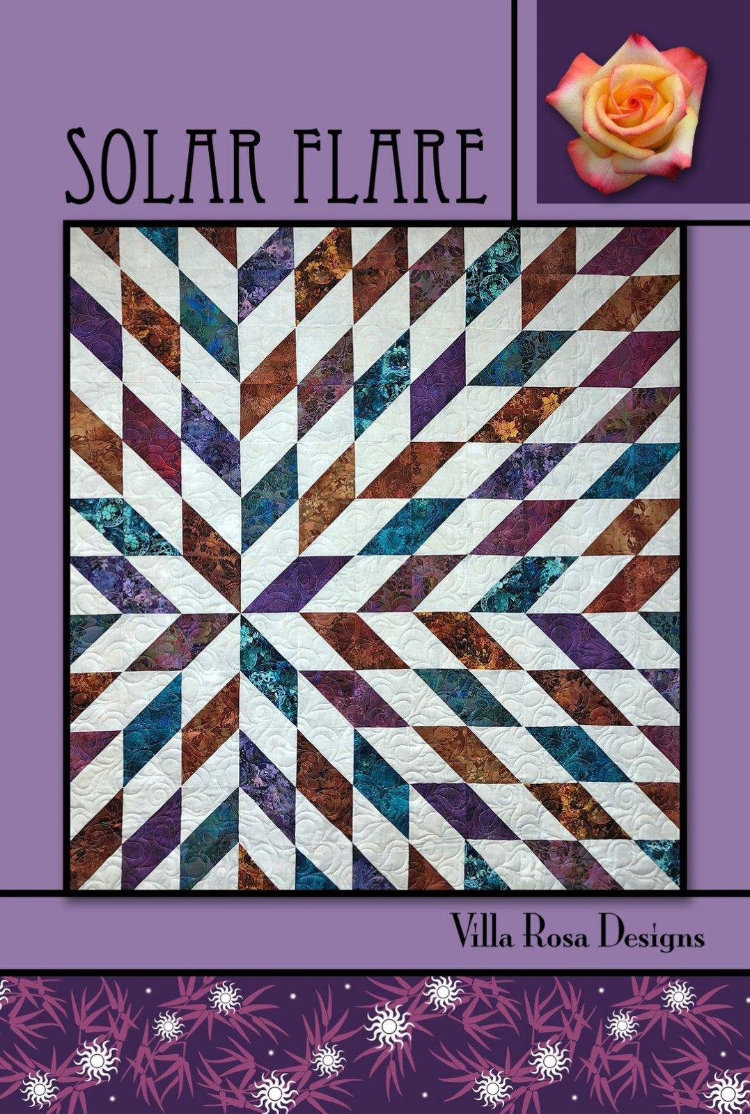 Solar Flare Postcard