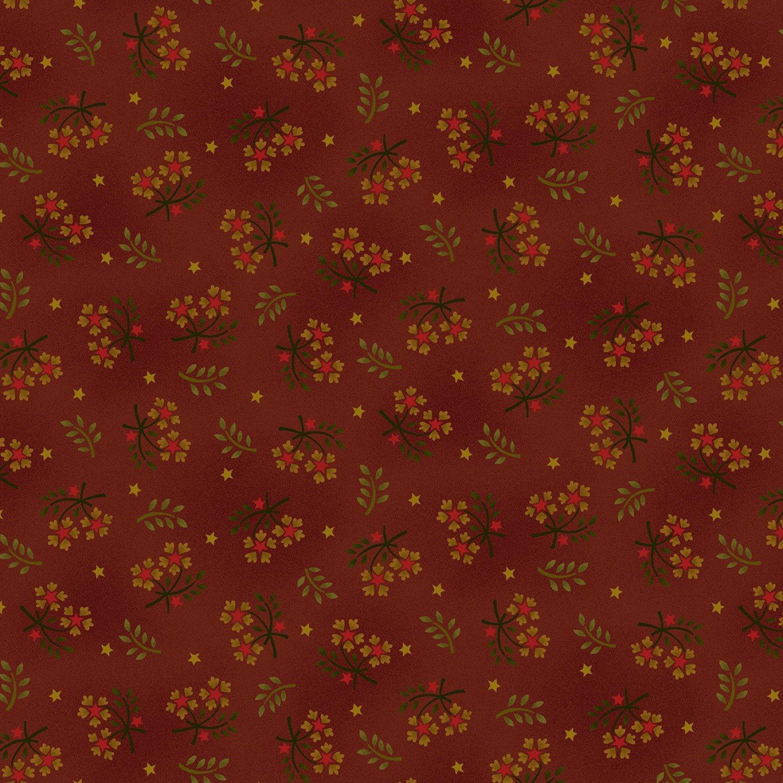 Wit & Wisdom Red Floral Spray