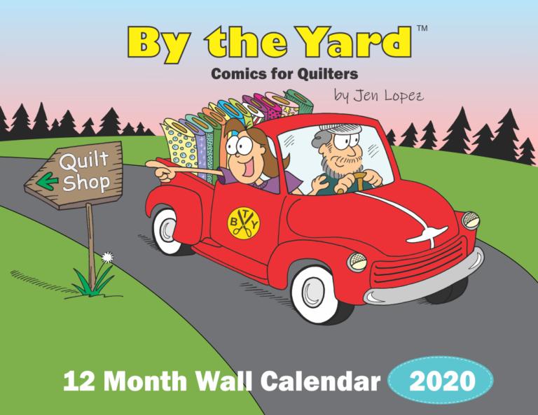 By The Yard 2020 Calendar